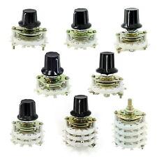Drehschalter Keramik oder Plastic Schalter Stufenschalter Rotary Switch 1-4 Pole