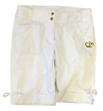 ADIDAS BL Bow white shorts women's pantaloncini donna bianchi cod. E17220