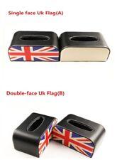 PU Auto Car Napkin Paper Holder Tissue Box Cover For Mini Cooper