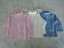 Armani Baby Long Sleeve Shirt NEW 6M, 9M, 12M, 18M Blue, Pink & White