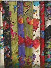 """Clothworks-Laurel Burch-Celebrazioni delle vacanze - 100% Cotone Tessuto - 44 """"Wide"""
