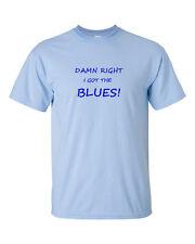 Damn Right I Got The Blues T Shirt - BB Freddie Albert King Buddy Guy Hendrix