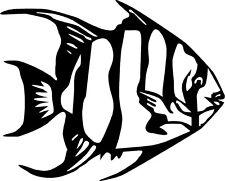 fish angel salt water ocean gulf  VINYL DECAL STICKER 62 +