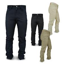 "Pantalone Uomo ""CARRERA"" Regular Canvas Cotone Tg da 46 a 62 4 VARIANTI DD"