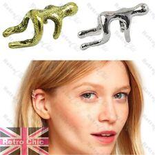 4x MAN EAR CUFFS silver/gold tone CLIMBER climbing running cuff earcuff earring