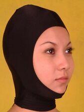 Lycra Spandex zentai bare face Mask/hood size S-XXL