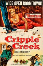 Cripple Creek - 1952 - Movie Poster