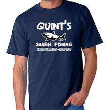 Jaws Quint's Shark Fishing Jaws Movie T-Shirt Shark Week
