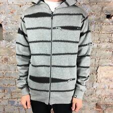 Insight Zip Fleece Hoodie Full Zip Up Brand New in Grey - Size: S,M,L