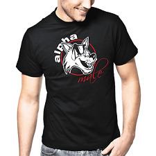 Alpha Male | mâle | wolf | Fun | proverbes | plaisir | fête | s-xxl t-shirt