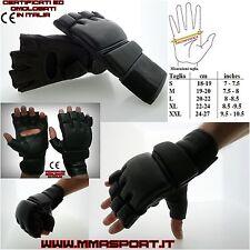 guanti sacco cage gloves mma valetudo jkd kali krav maga free street fight
