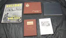 Lot of 5 Travel Periodical Type Books New York Kansas New Hampshire Blaine House