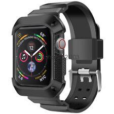Bracelet de Robuste Bande Coque pour Apple Watch Band + Case Séries 4 44mm 40mm