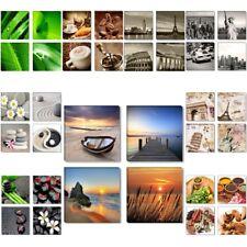 Bilder Sets 4x 30x30cm gerahmt auf Leinwand Markenware edeles Design 1583 D2