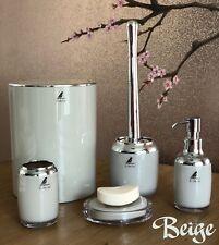 Liana 5-Piece ABS and Chrome Bathroom accessories set, Modern and elegant design