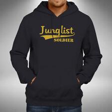 Junglist Soldier Adult Hoodie Jungle Drum Bass Stevie Hyper D Old Skool Raver