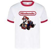 Super Mario Bros Mario Kart Video Game T Shirt