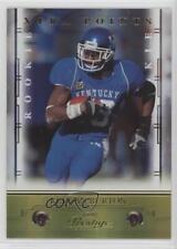 2008 Prestige Xtra Points Gold 160 Keenan Burton Kentucky Wildcats Football Card