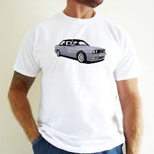 BMW SERIES (E30) CAR ART T-SHIRT. PERSONALISE IT!