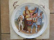 """""""Patriots' Parade""""-6th issue Csatari Grandparent Plate 1985"""