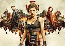 Resident Evil el capítulo final Póster Película Pared Arte Foto Impresión Cartel A3 A4