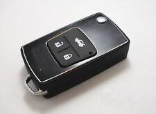 Remote Folding Key Flip Shell Case For Toyota Camry Corolla RAV4 Prado 3 Buttons