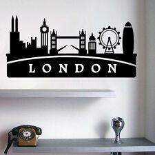 Sticker Angleterre London City, Ville de Londres, 10x21 cm et 30x62 cm (LOND002)
