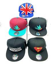 Carbon 212 London Underground, Superman, union jack baseball cap snapback