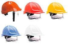 Portwest Endurance Visiera Sicurezza Cantiere di costruzione Elmetto Casco costruttori pw55