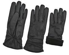 Premium Damen Mode Kleid Handschuhe Warm Gefüttert Retro Stil Schafsleder