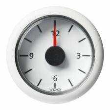 VDO-ViewLine Uhr Ø52mm 8-16V/18-32V schwarz oder weiß