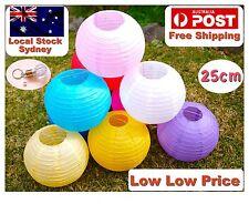 Paper Lanterns for Wedding Party Festival Decoration - 12 x 25cm  Lantern pack