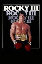 """ROCKY 3"" . .Sylvester Stallone  Retro Movie Poster A1A2A3A4Sizes"