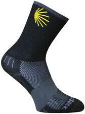 WrightSock Wandersocke -anti-blasen system- Socke schwarz - Stick Jakobsweg