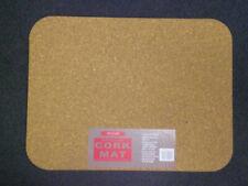 Nicoline Large Natural Cork Bathmat 60cm x 45cm Non Slip Shower Bathroom Mat