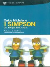 I SIMPSON  GUIDO MICHELONE BOMPIANI 2009 TASCABILI BOMPIANI