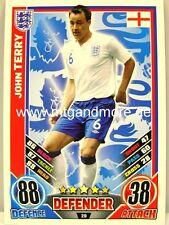 Match Attax Euro EM 2012 - #029 John Terry - England