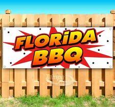 New listing Florida Bbq Advertising Vinyl Banner Flag Sign Many Sizes Usa