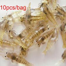 creative la pêche en mer hook ver silicone les crevettes faux appât crabe lure