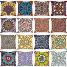Retro Bohemia Geometry Pattern Pillowcase Sofa Cushion Cover Waist Home Decor