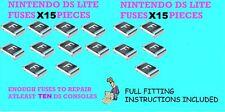 Nintendo DS & DS lite Reparatur Sicherungen x15 Ersatzteile fehlerhafte