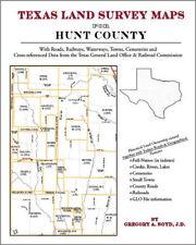 Hunt County Texas Land Survey Maps Genealogy History