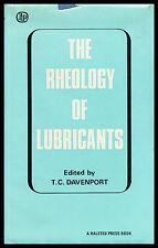 The Rheology of lubricants