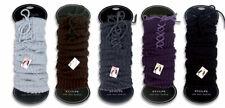 Legwarmer Stulpen Stiefelstulpen mit Schnürbändsel