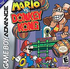 Mario vs. Donkey Kong, (GB Advance)