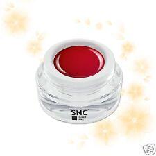 Gel Color UV 5ml tonalità ARANCIO ROSSO ricostruzione unghie Germania kit SNC