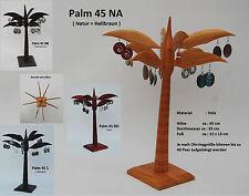 Ohrring Ständer aus Holz Ohrringe Display Halter verschiedene Farben / palm 45--