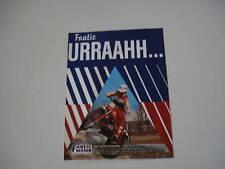 advertising Pubblicità 1981 FANTIC 200 TRIAL PROFESS.