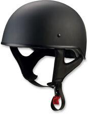 Z1R CC Beanie Motorcycle Half-Helmet (Flat Black) Choose Size