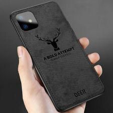 Quality Deer-Skin-Feel Slim Shockproof Mobile Phone Back Case Cover for iPhone